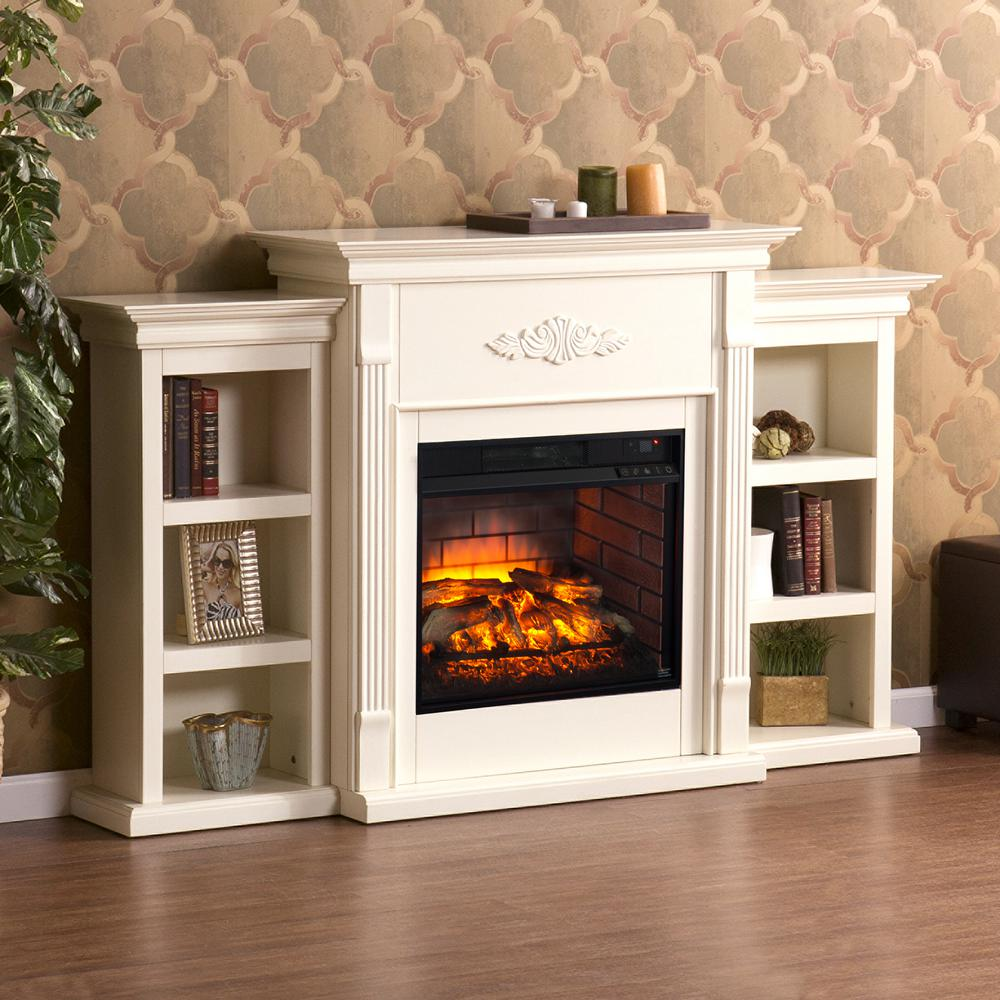 Strange Greenfield 70 25 In W Infrared Electric Fireplace With Download Free Architecture Designs Itiscsunscenecom