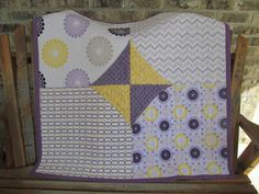 modern baby quilt - Google Search