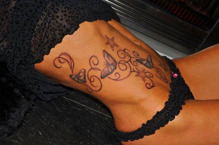 Butterfly Tattoos Side Stomach Google Search Butterfly Tattoo Tattoos For Women Stomach Tattoos