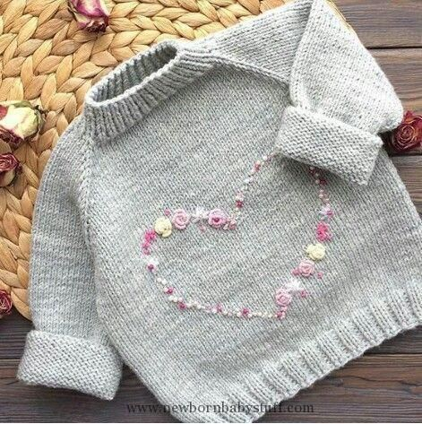 Photo of Baby Knitting Patterns Inspiration – Stickerei – #inspiration #Stickerei… (NewBorn Baby Stuff)
