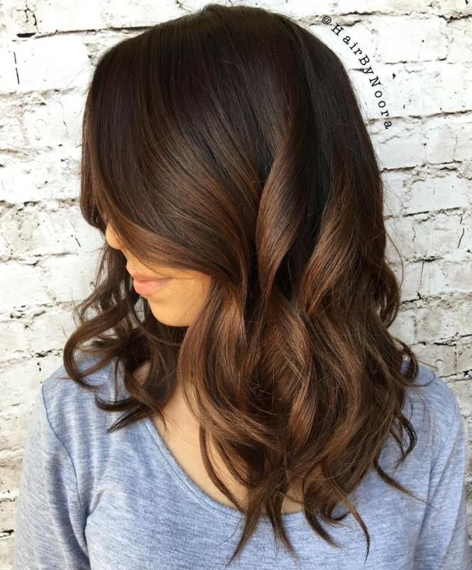 60 Chocolate Brown Hair Color Ideas For Brunettes Brunette Ombre