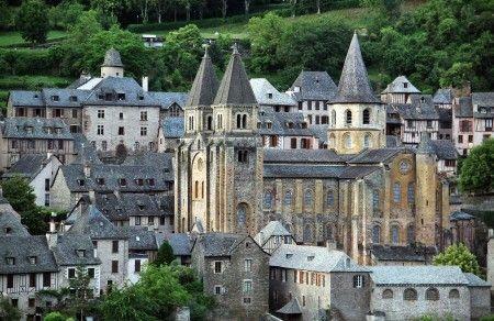 Visita Abadía De Conques Guías Viajar V Viajes Sur