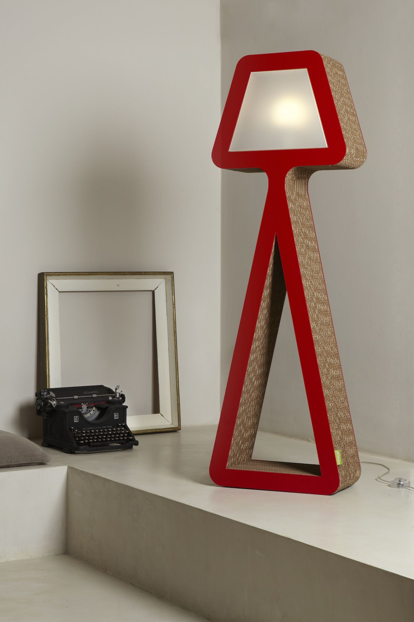 Design Lamp Karton Lamp Art Biancaneve From Kubedesign Collection