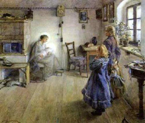 The New Born, Emil Czech (1862 – 1929, Czech) I AM A CHILD-children in art history-blog