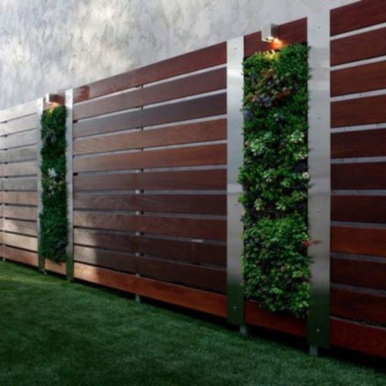 45 Easy And Inexpensive Privacy Fence Design Ideas Page 37 Of 45