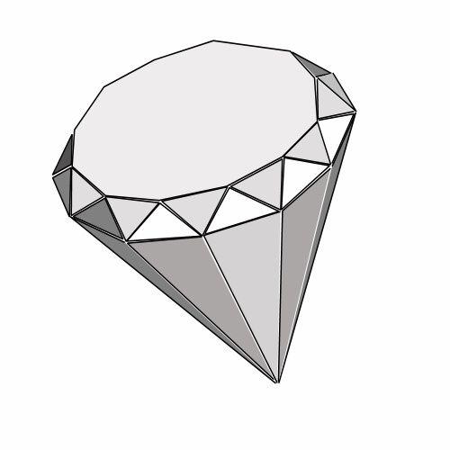14 Élégant de coloriage diamant à imprimer photos