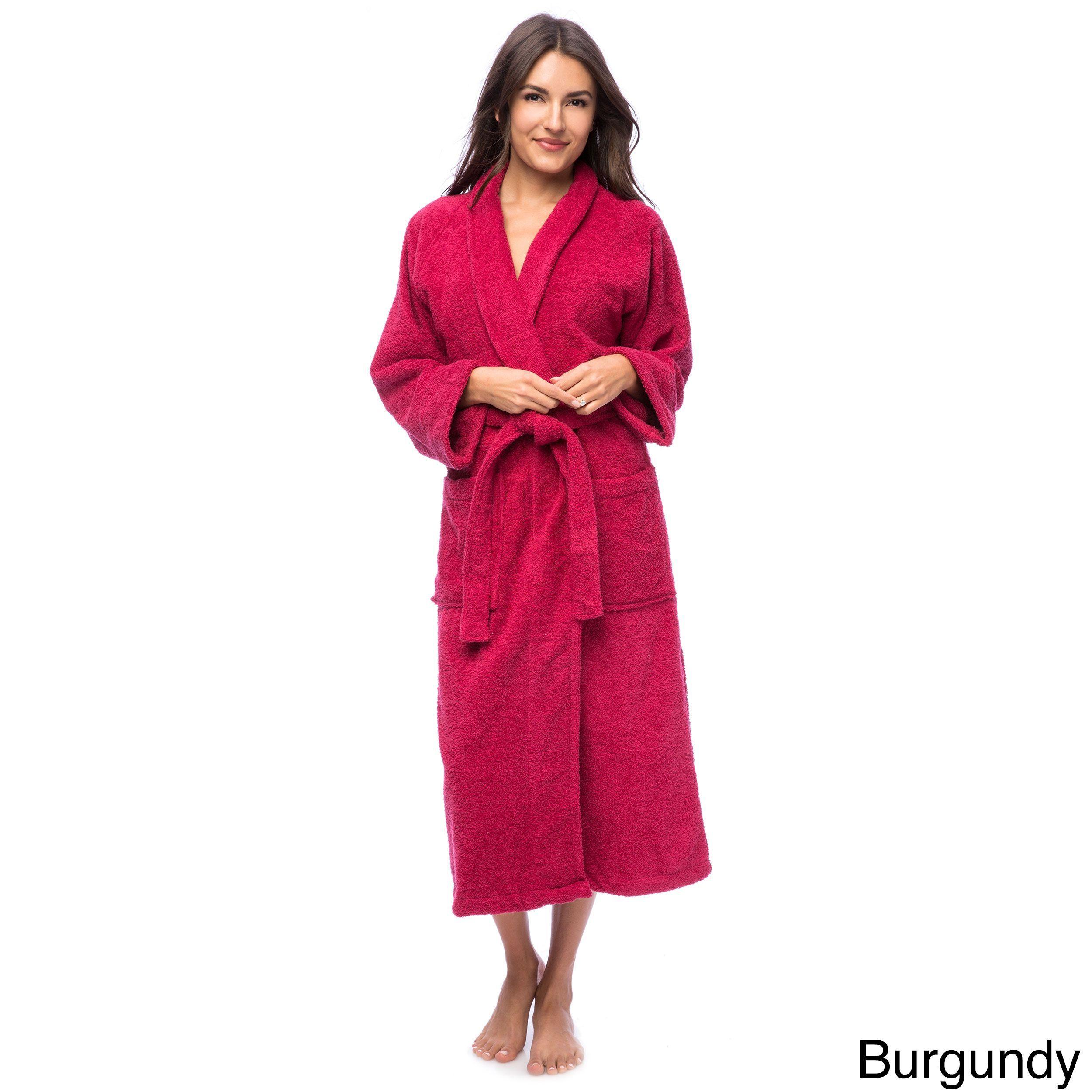88891980d1 Superior Collection Luxurious Egyptian Cotton Unisex Terry Bath Robe ...