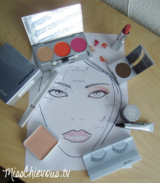 Kryolan Spring/ sumer 2012:  Tangible Goddess Collection by Misschievous