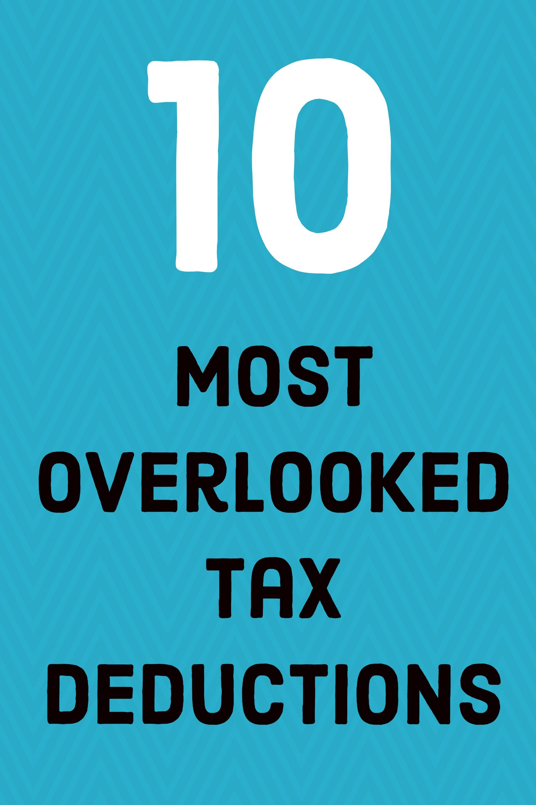List Of Tax Deduction Ideas For Itemized Deductions On Your Federal Ta