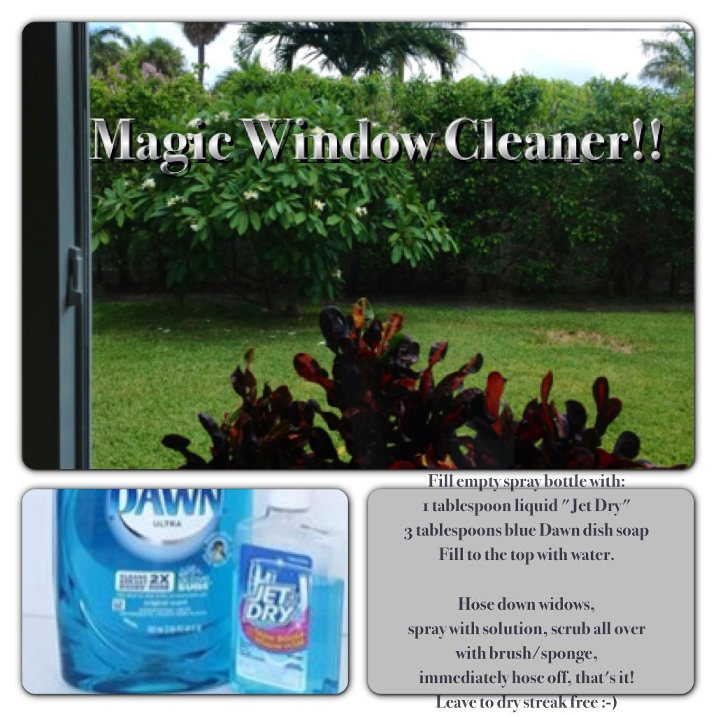 how to clean glass windows without streaks