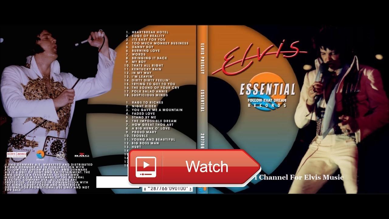 Elvis Presley Essential FTD Full Album Elvis Presley
