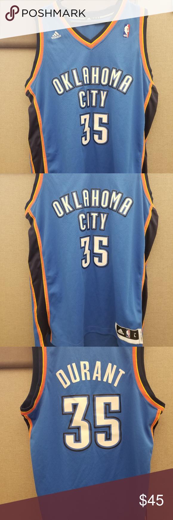 huge discount 8e1ec a7b9e Kevin Durant Oklahoma City Thunder jersey. Throwback Kevin ...