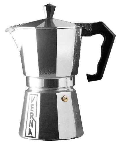 Verna Ve03012 12 Cup Verna Aluminum Stove Top Espresso Coffee Maker Stove Top Espresso Espresso Espresso Coffee