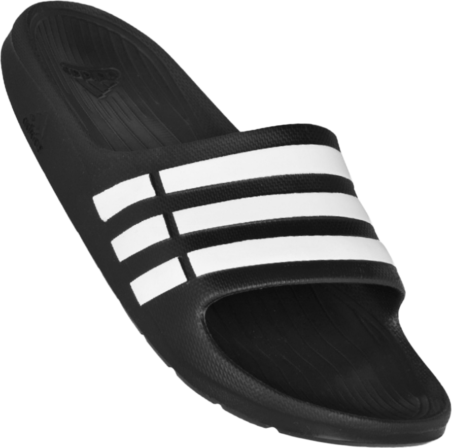 f631b360a096 O Chinelo Adidas Duramo é fabricado com formato anatômico