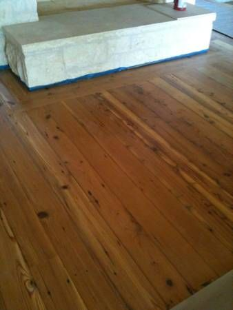 Reclaimed Long Leaf Pine Floor 7 Fort Worth Dallas Http