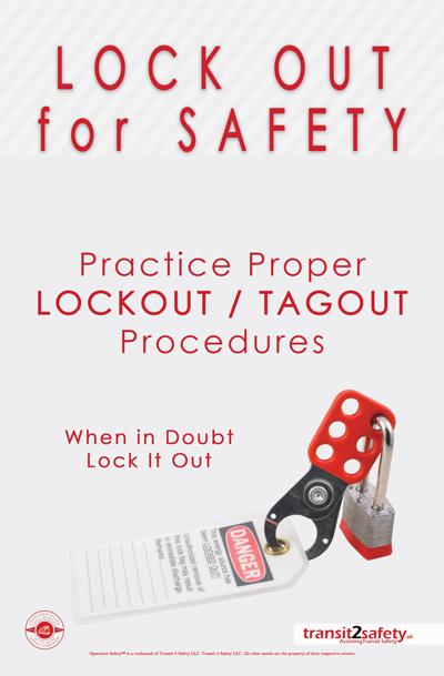lockout tagout safety slogans