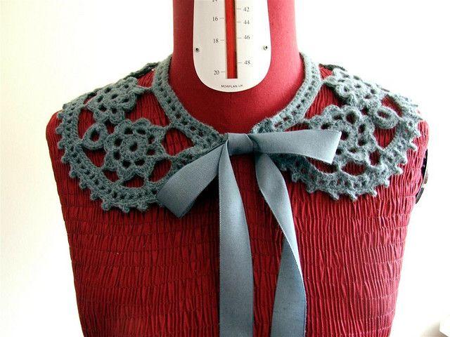 Gilfling Designs - crocheted collar