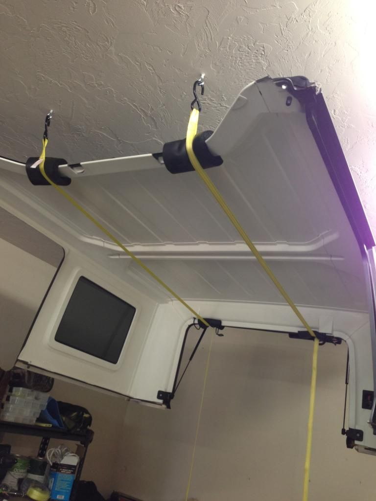 Diy Jeep Top Hoist My Husband Made This For Me So I Could Get The