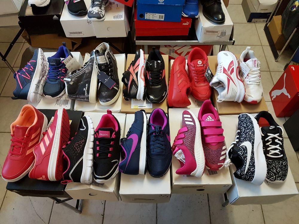 10 Paar Schuhe Restpostenpaket Top Marken Sportschuhe