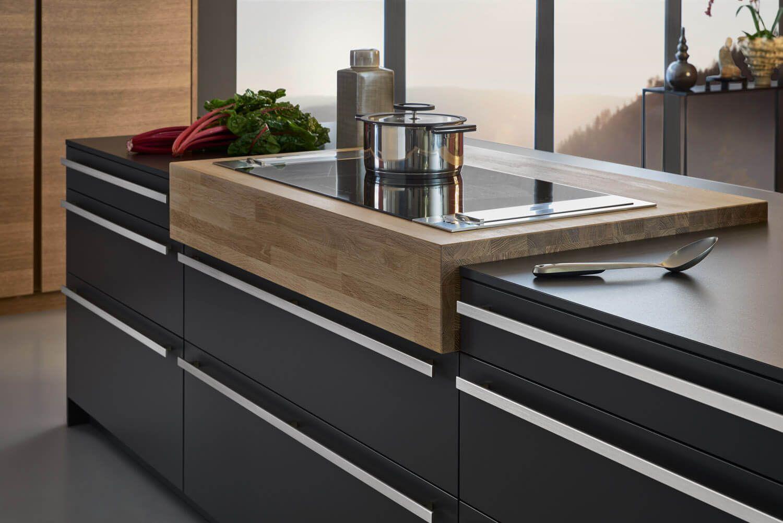 Ideen Für Deine Neue Schwarze Kochinsel: Bilder Von Edlen, Dunklen  Kücheninseln