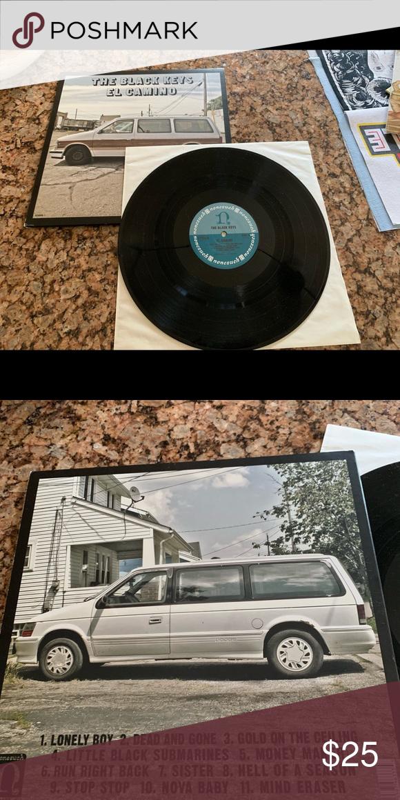 The Black Keys El Camino Vinyl The Black Keys Black Submarine Black