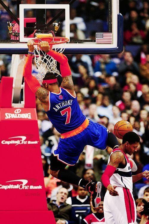 Nba Basketball New York Knicks: Carmelo Anthony New York Knicks