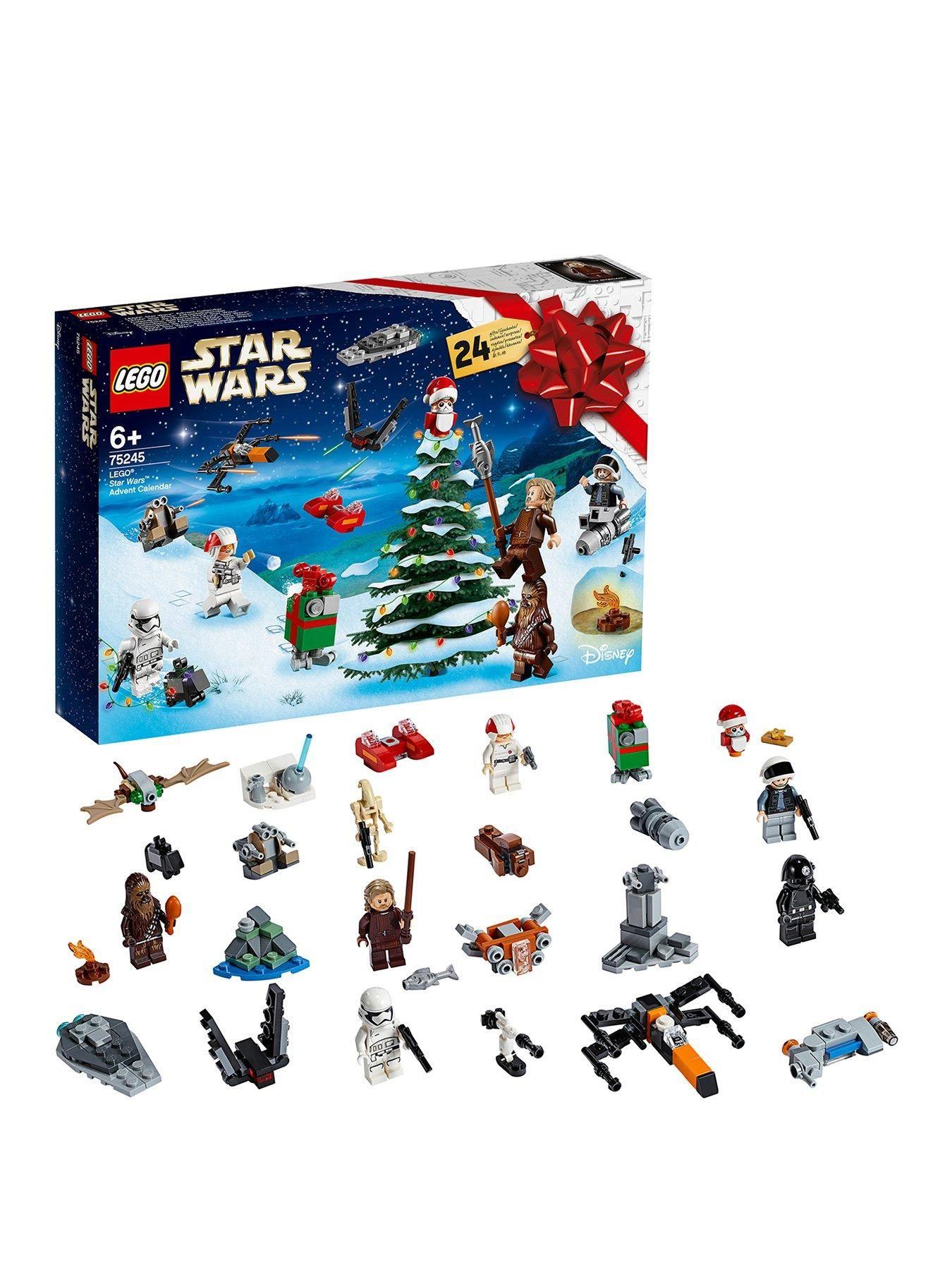 75245 Advent Calendar 2019 With 24 Mini Sets Star Wars Advent