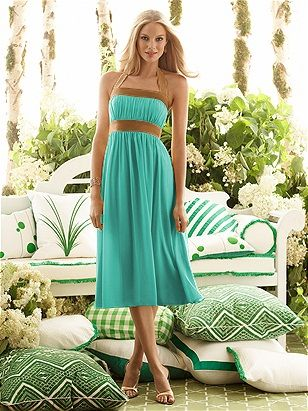 0da3515a15909 Bridesmaid Dress Option for Turquoise and Copper