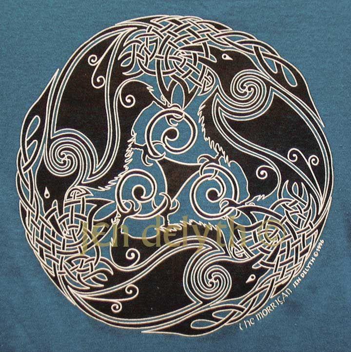 ravens triple morrigan short sleeved t shirt tattoo planning pinterest ravens celtic. Black Bedroom Furniture Sets. Home Design Ideas