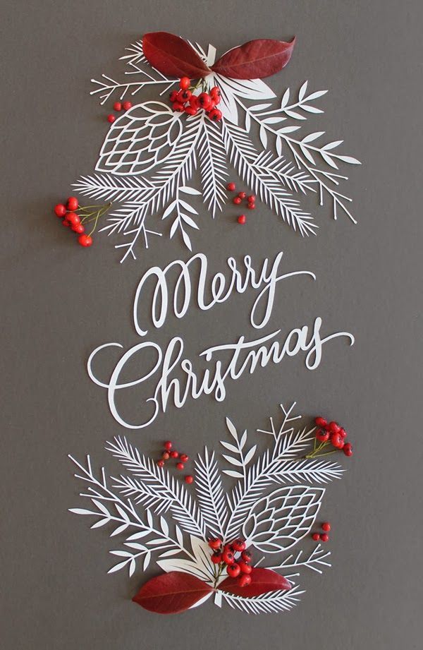 Christmas Paper Crafts and Paper Art