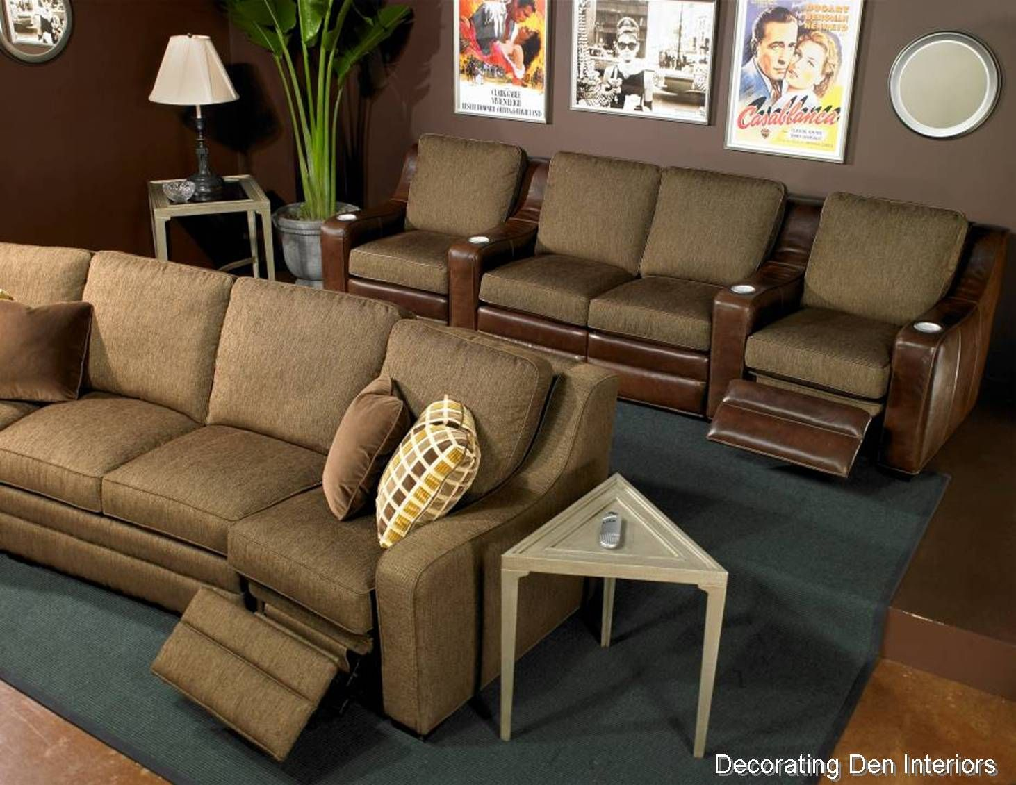 There are some surprising ways to accomplish building on to your home. Tips for Creating a Media Room, Big or Small | Small media ...