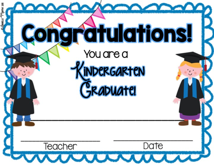 Kindergarten Certificates For Graduation Raptor Redmini Co