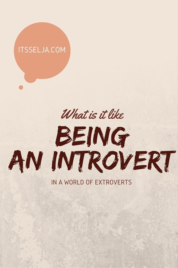 What is it really like being an introvert?