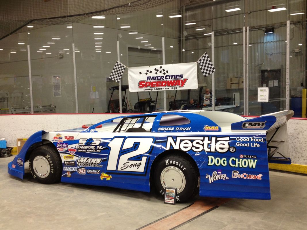 12s Nestlé S Transport World Of Outlaw Late Model Brad Seng On Display At The River Cities Sdway 31st Annual Prime Steel Car Show