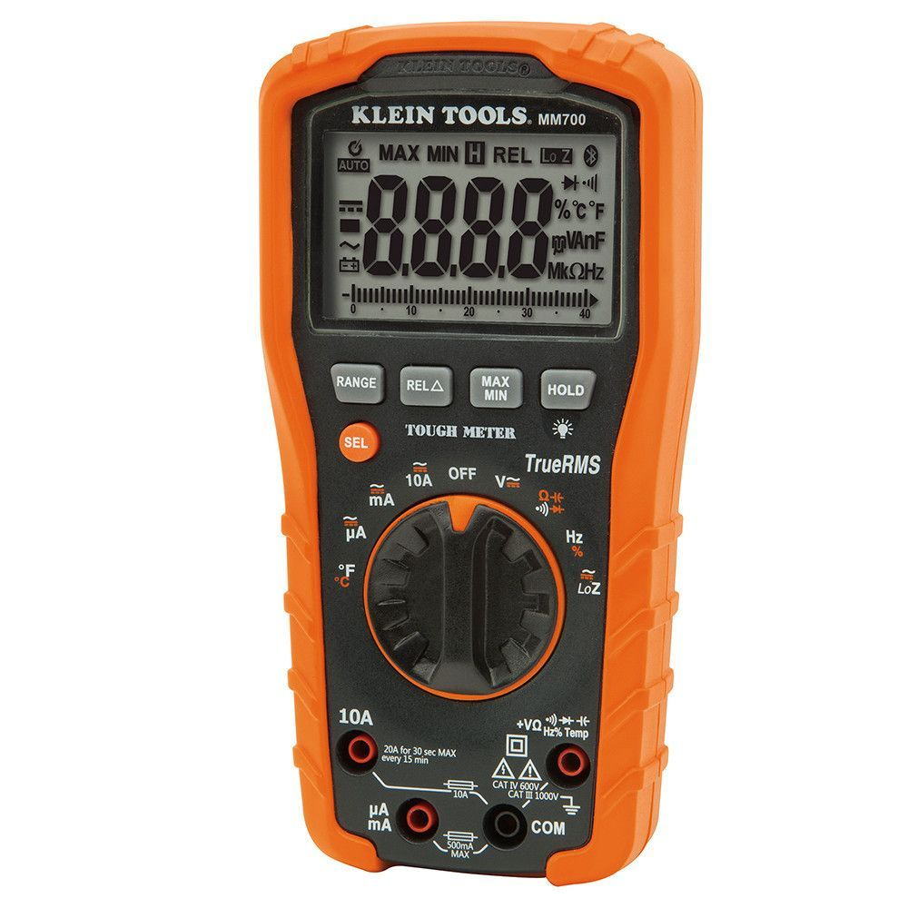 Klein Tools Digital Multimeter & Auto Ranging 1000V