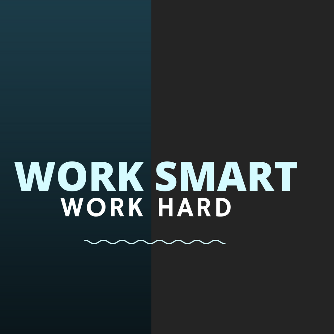 The Combination Of Hard Work And Smart Work Is Efficient Work