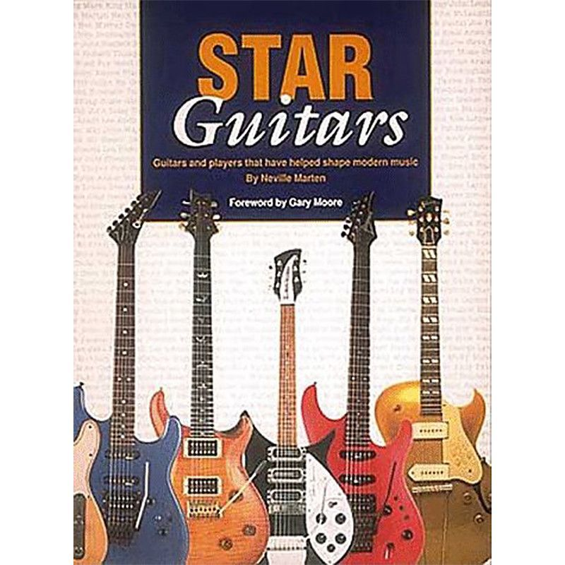 "Hal Leonard ""Star Guitars"" by Neville Marten 1994"