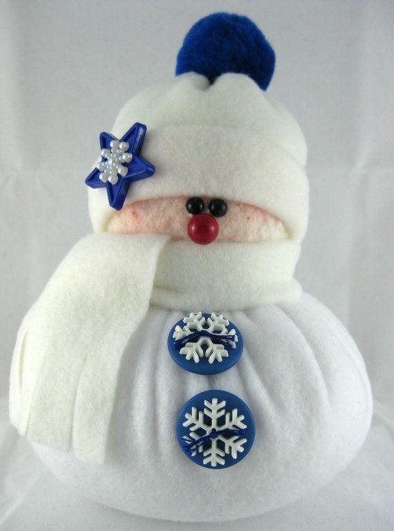 Vello di decorazione pupazzo di neve pupazzo di di ByFreddismom
