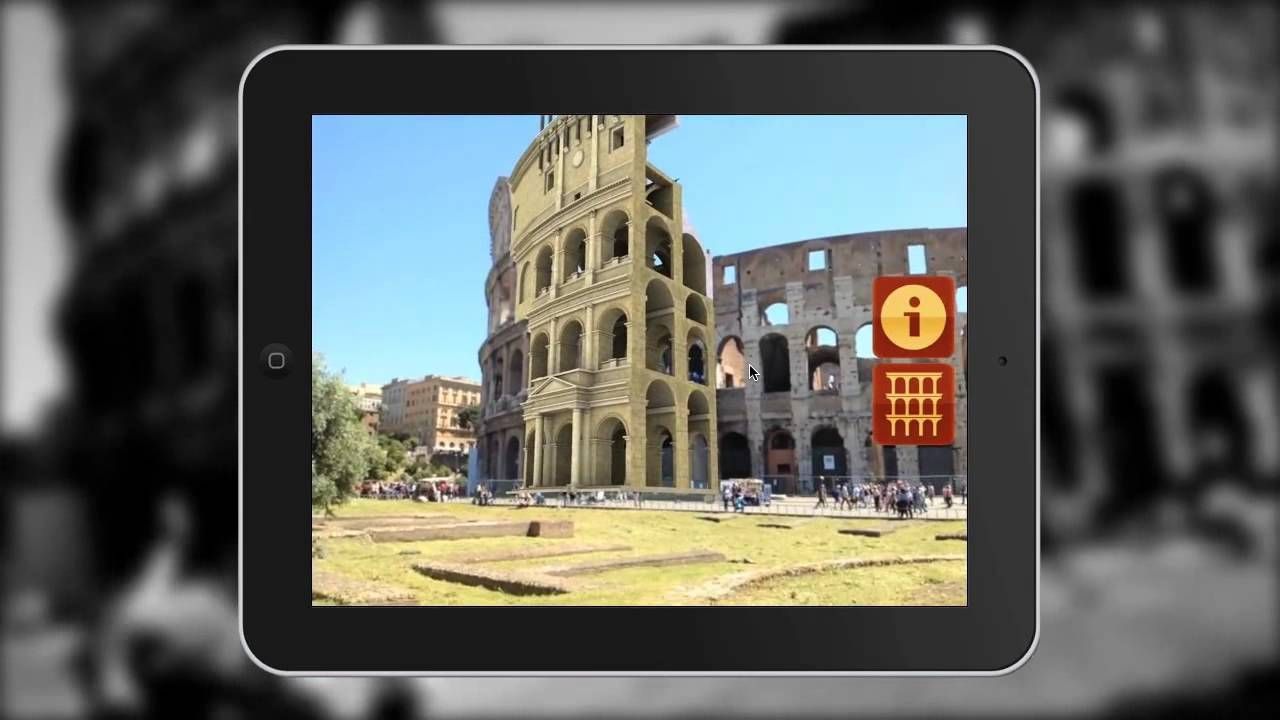 ARmedia Augmented Reality 3D Tracker (Augmenting Rome Coliseum)