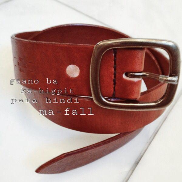 Belt with feelings