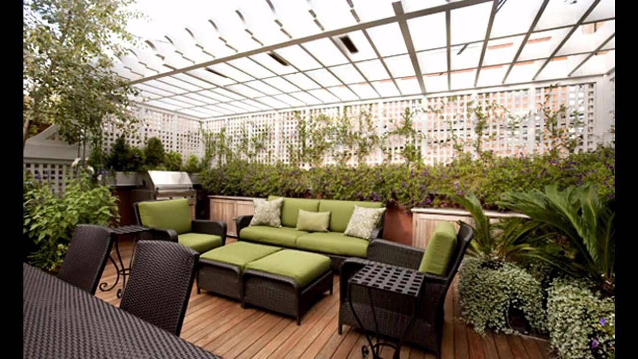 Creative Rooftop Garden Design Ideas Youtube for Garden Roof Ideas