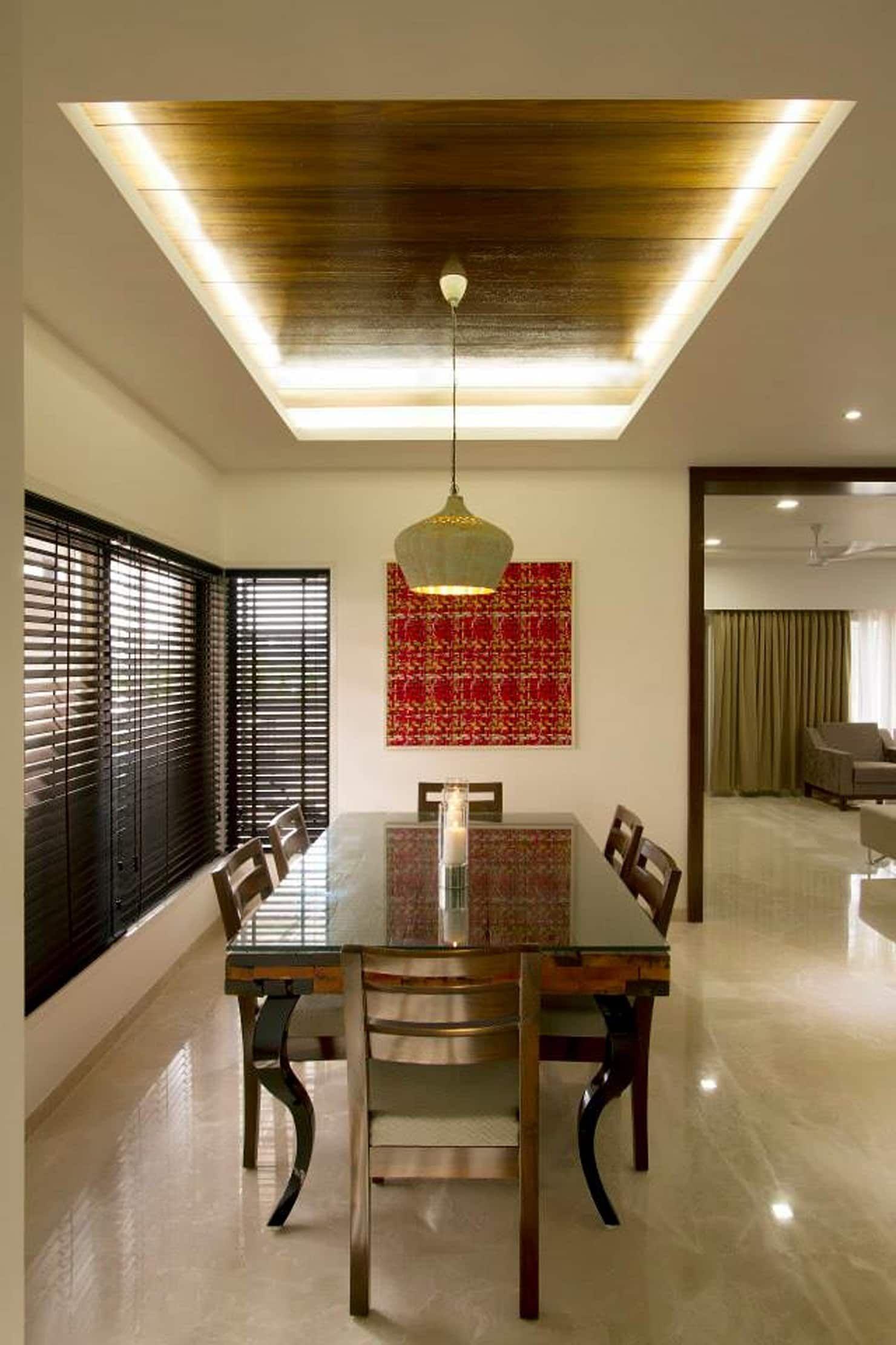Sandeep Gandhi Bungalow Modern Dining Room By P D Associates