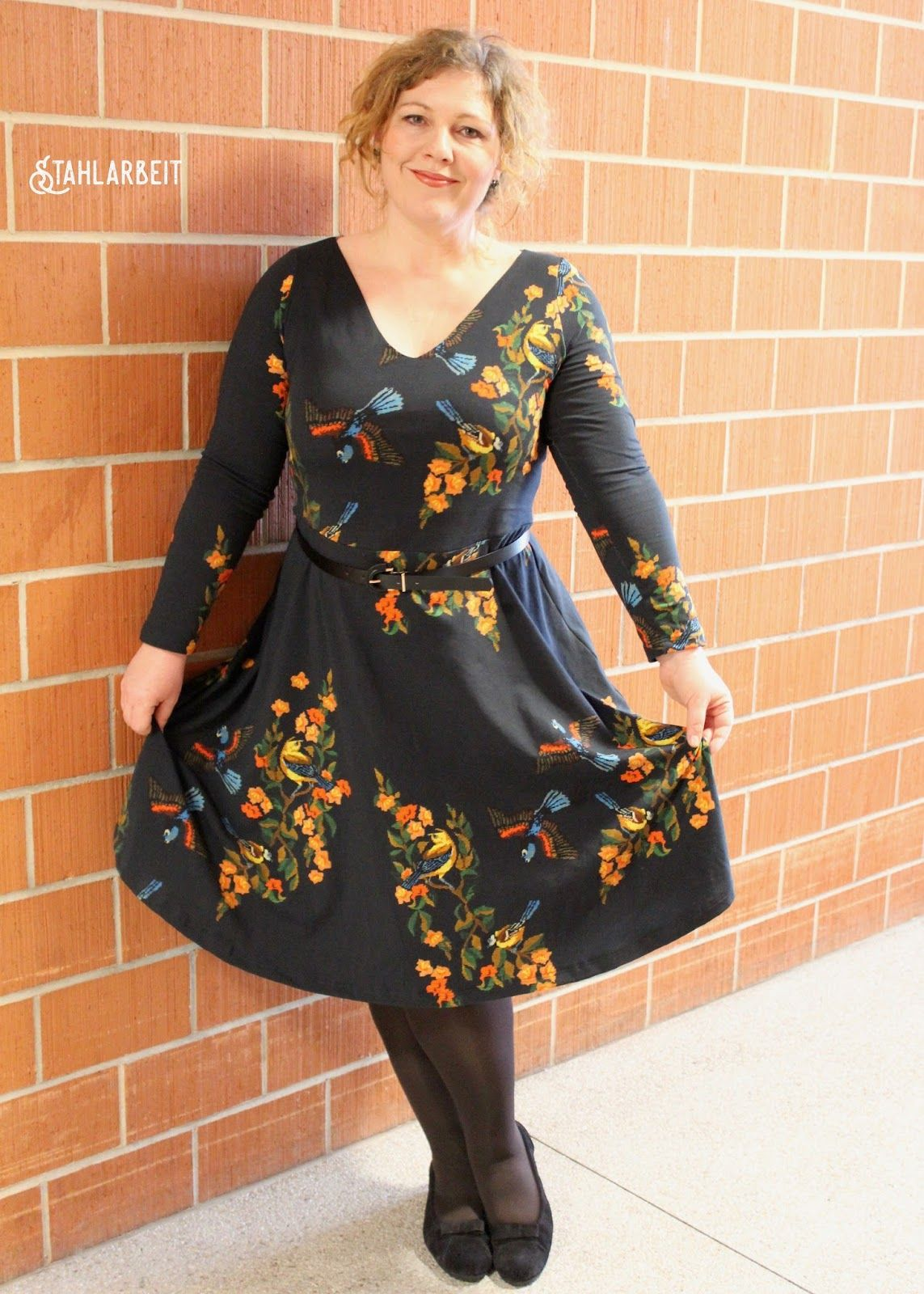 The Cashmerette Turner Dress by Bettina! The Turner is a plus size ...