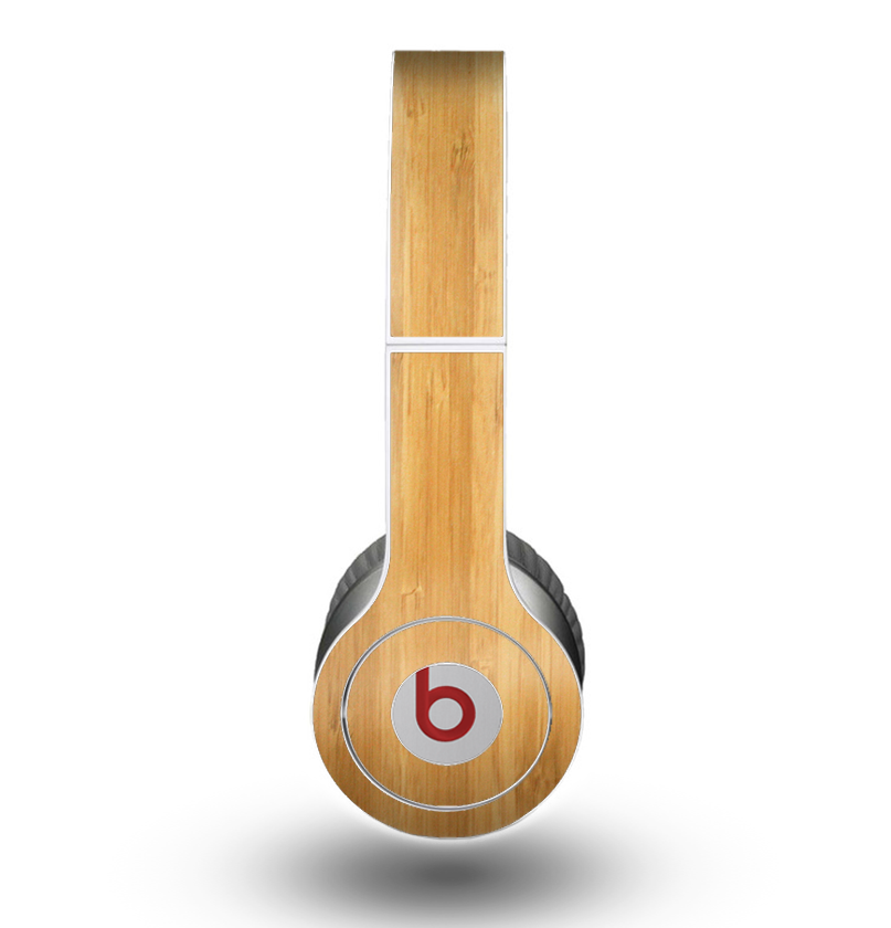 The Light Bamboo Wood Skin for the Beats by Dre Original Solo-Solo HD Headphones