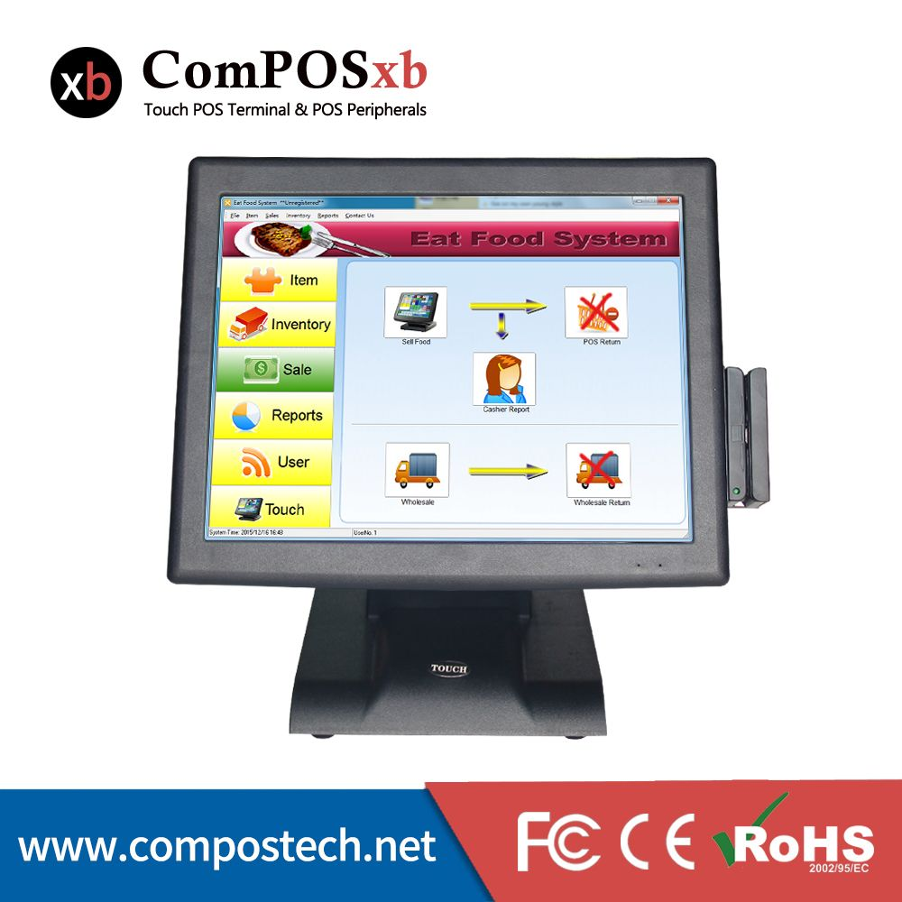 Factory 15 Inch Touch Screen Pos System Pos All In One Point Of Sale Pos System With Msr Pos2119 Affiliate Computer Computer All In One Computer Peripherals