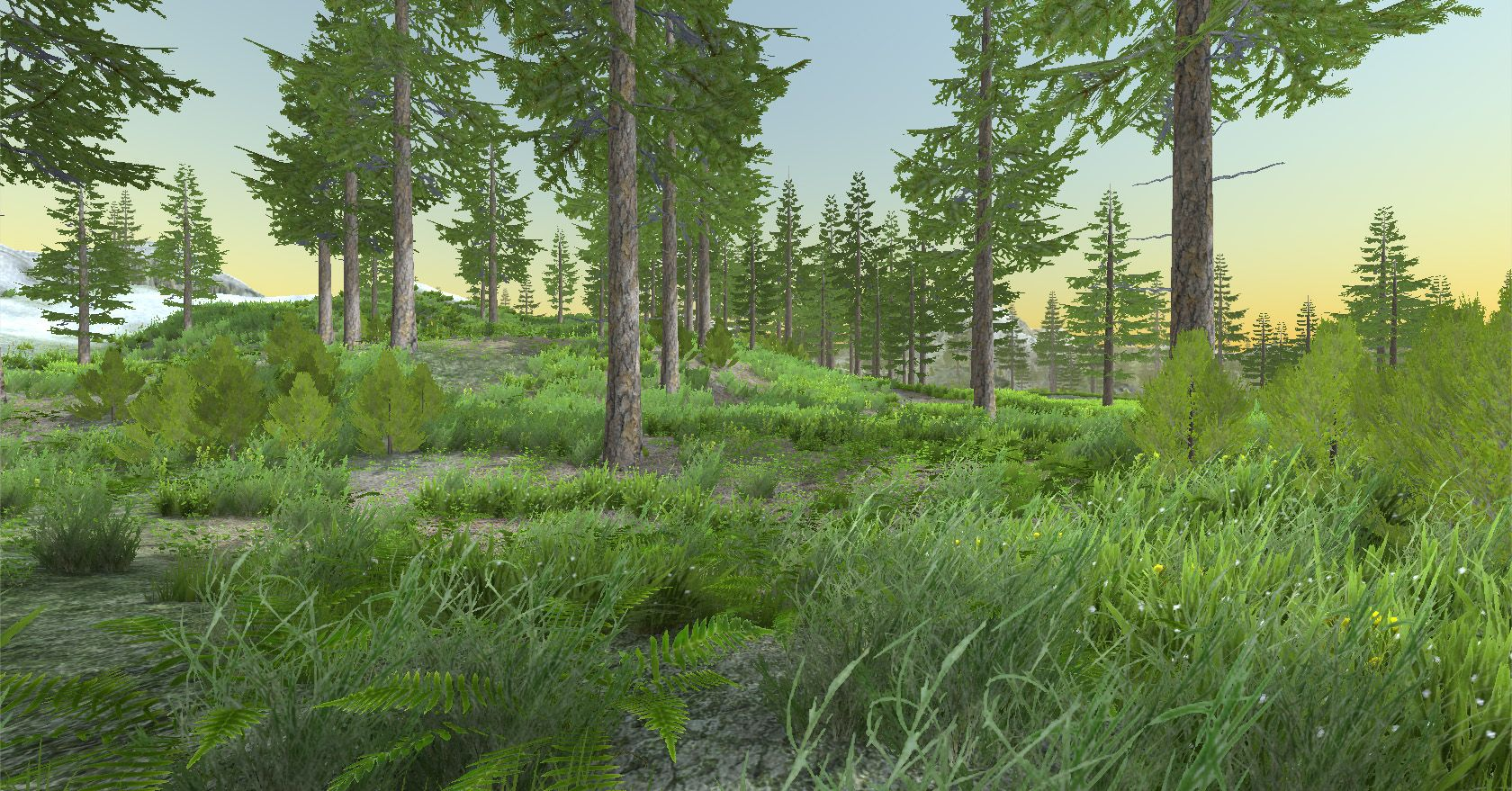 Image result for unity forest