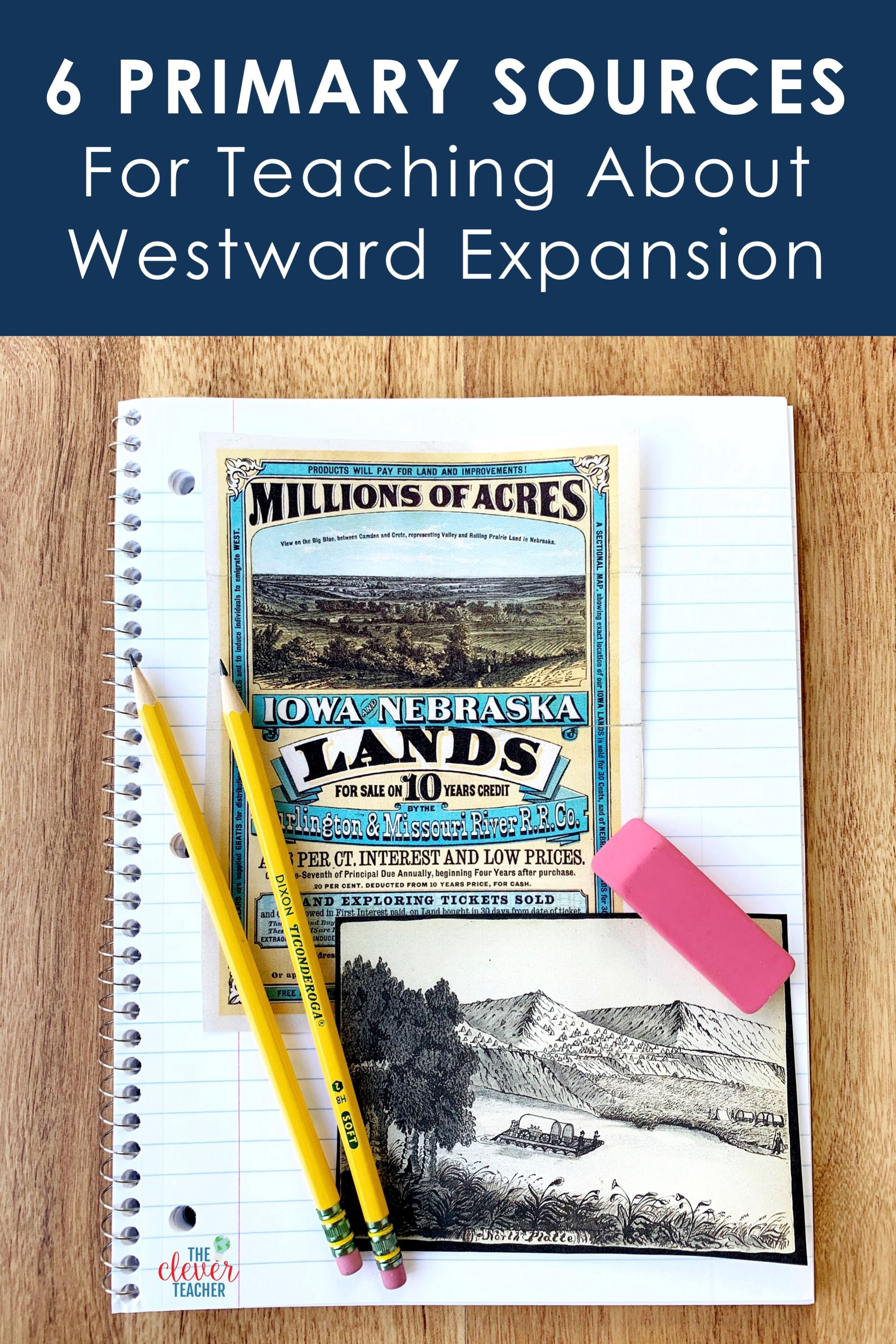 Photo of 6 Westward Expansion Primary Sources for Kids