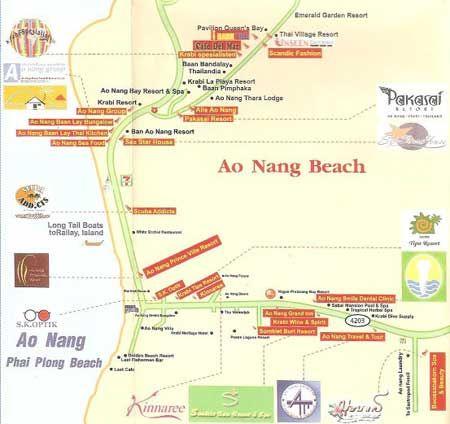 Ao nang beach Krabi beaches Thailand Pinterest Krabi beach