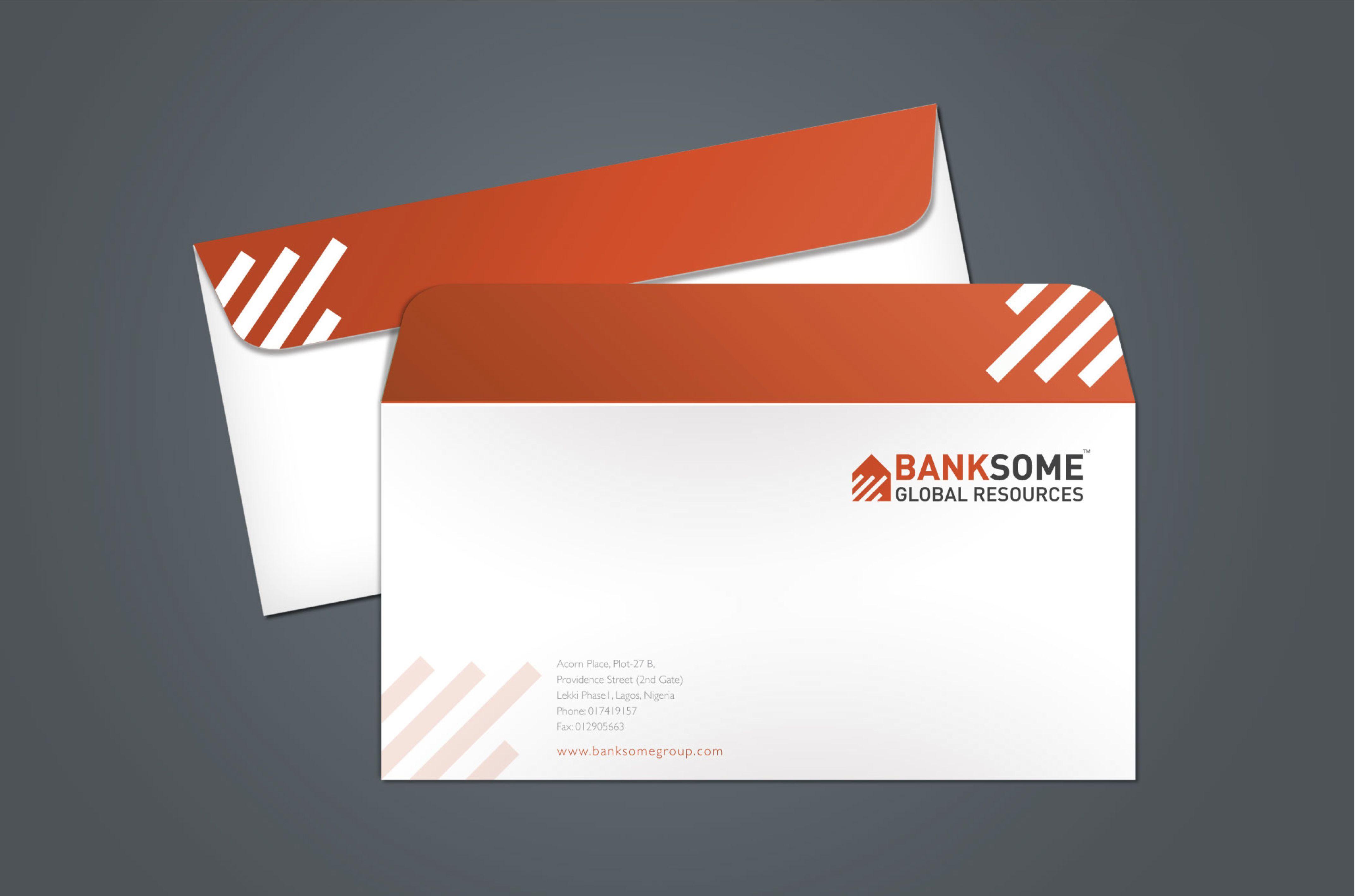 BanksomeEnvelopDlJpg   Envelope Template