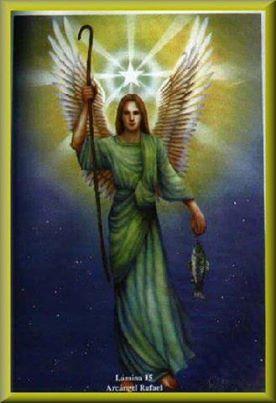 Saint Raphael Arcangel San Rafael Arcangel Oracion De Sanacion